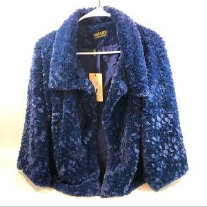 Jayley Faux Fur Teddy Jacket